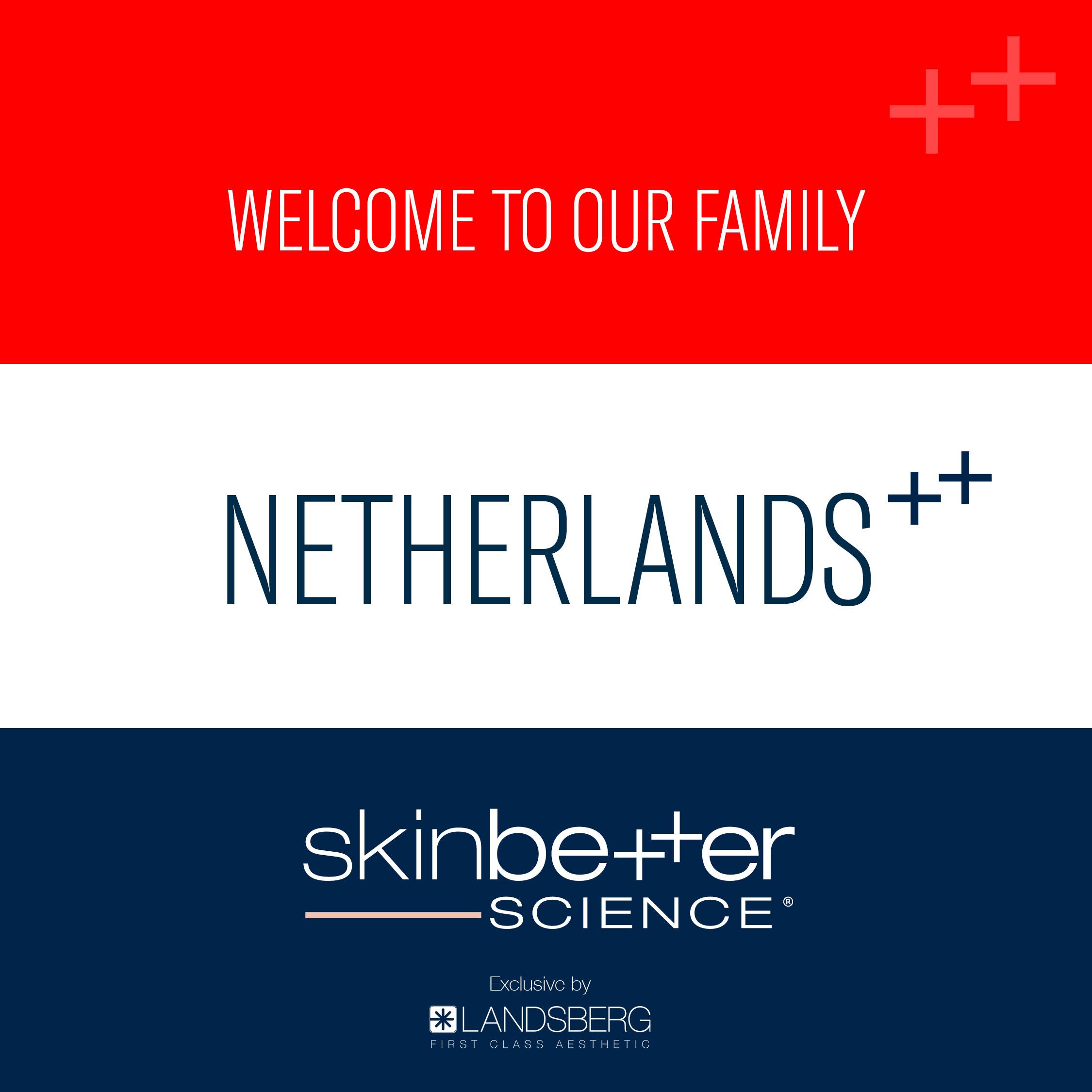 skinbetter science® – Now available in the Netherlands / Jetzt auch in den Niederlanden