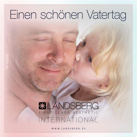 Landsberg wünscht allen Vätern einen schönen Vatertag!